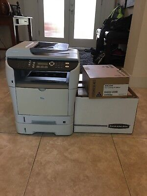 Ricoh Printer, copier, fax machine (toner included)