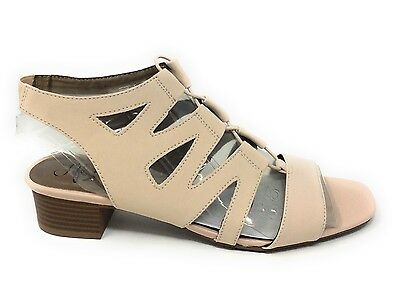 0a58b8b02b63 LIFESTRIDE WOMENS MEANING Gladiator Sandal Blush Size 7 Wide ...