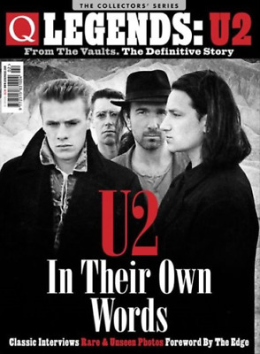 Q Legends - U2 - From The Vaults, The Definitive Story Collectors Magazine...new