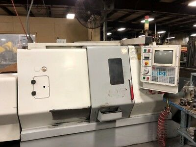 Used Haas SL-20 Live Tool CNC Machine Turning Center Lathe Rigid Tap Tool Eye 99