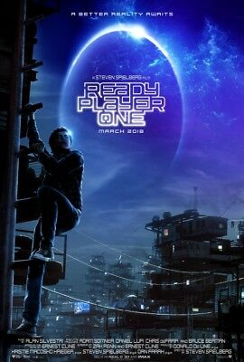 READY PLAYER ONE D/S 27x40 Original Movie Poster One Sheet Steven Spielberg