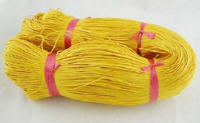 YELLOW WAXED COTTON CORD 10 metres x 1mm Shamballa Macrame Jewellery Making