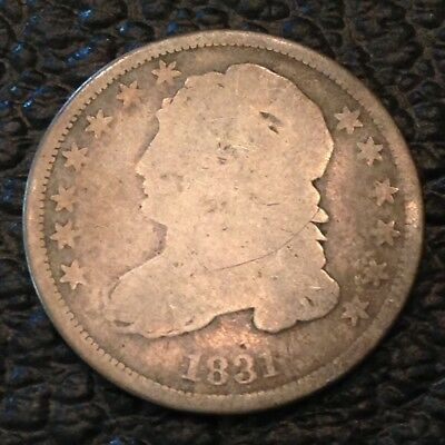 1831 US Bust Dime Ten 10 Cents