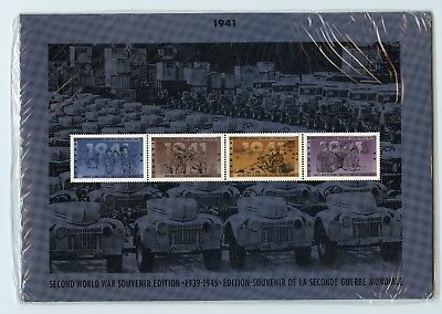 Weeda Canada Thematic Collection #54, 1991 WWII 1941 folder CV $10