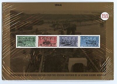 Weeda Canada Thematic Collection #66, 1994 WWII - 1944 folder CV $10