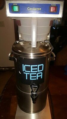 Cecilware 3 Gallon Iced Tea Brewer with Dispenser  FTC-3