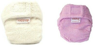 5 x Bamboo shaped reusable nappy (16-35lbs; choose your colours) 50% DISCOUNT
