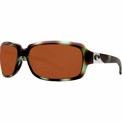 Costa Isabela Polarized 580P Sunglasses - Women's Shiny Seagrass/Amber 580p One