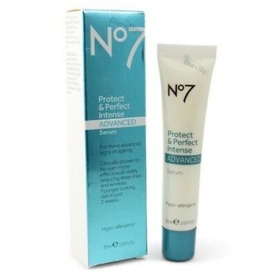 Boots No7 Protect & Perfect Intense ADVANCED Serum [30ml / 1oz] (NEW)