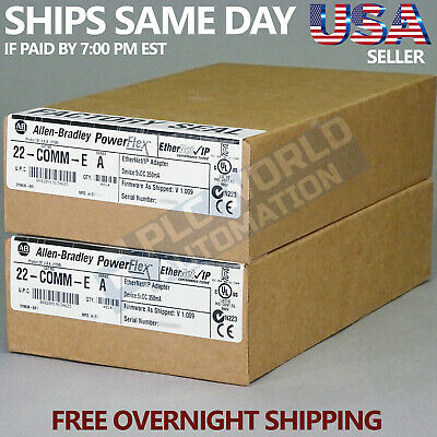 2018 New Factory Sealed Allen Bradley 22-Comm-E /a Comm Adapter Free Nextday Air
