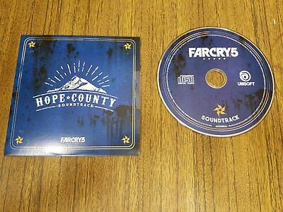 Far Cry 5 CD Soundtrack nur Collectors Edition UK from the Father Edition NEU