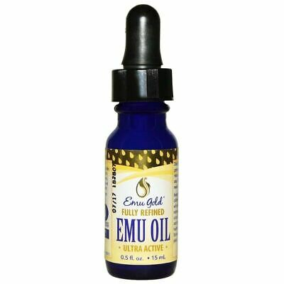 PURE GOLD EMU OIL Ultra Active Fully Refined - 3 SIZES AEA CERTIFIED - ODOURLESS