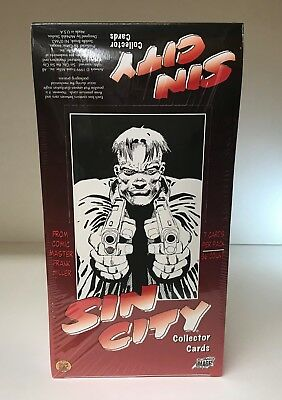 Sin City Frank Miller - Sealed Trading Card Hobby Box - Comic Images 1999