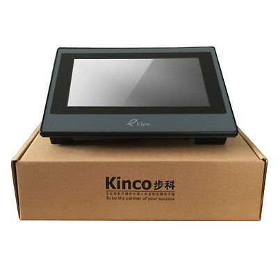 """KINCO HMI ET070 eView 7 Inch LED Touch Screen 7"""" Operator Panel Software & Cable"""