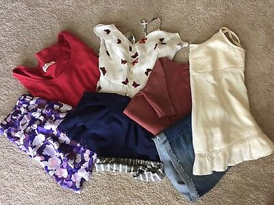 Large Girls Forever 21/Gap/Hollister Summer Clothing Lot, Size XS-S NWOT