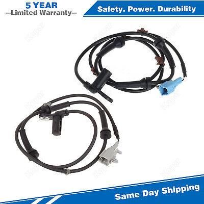 2PCS ABS Wheel Speed Sensor Rear Left & Right For 2004-2008 Nissan Maxima 3.5L