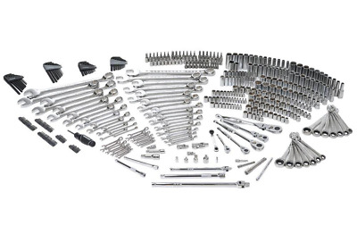 NEW Mechanics Tool Set (432-Piece) Husky Kit Wrench Ratchet SAE Metric Standard