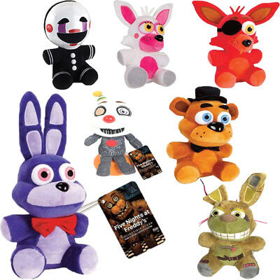"""7"""" Five Nights at Freddy's FNAF Horror Game Plush Doll Kids Stuffed Toy Gift US"""