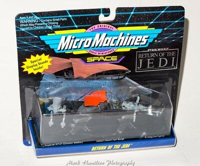 Star Wars Return Of The Jedi Micro Machines Space Ships New Sealed Galoob 1993