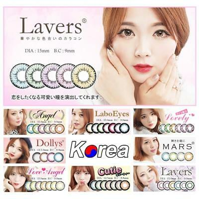Eye Color Contacts Lenses Crazy Halloween Coloured Cosmetic Cosplay Circle Lens