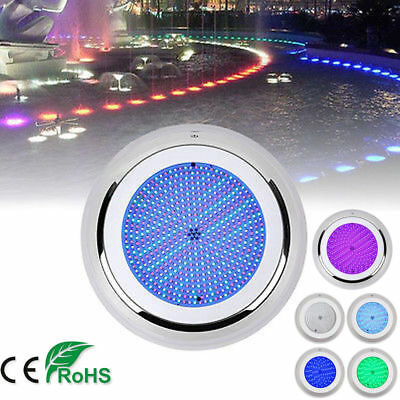 CE RoHS Swimming Pool Spa Lights 252 LEDs 18W RGB 12V IP68 Underwater stainless