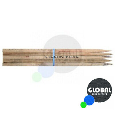 Hardwood Timber Garden Stakes 1200 mm x 25 x 25 (20 pack)