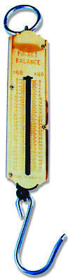 Portable Spring Balance Hanging Hook Scale 25 kilo