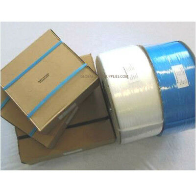 Blue Heavy Duty Poly Pallet Strapping 12 mm x 1000 metres