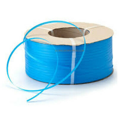 1 x 15 mm Heavy Duty Blue Poly Pallet Strapping x 1000 metres