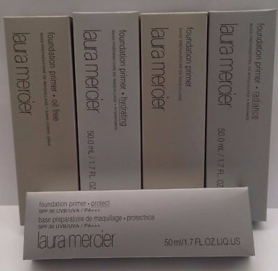 Laura Mercier Foundation Primers Full Size 1.7oz/50 ml  Variations)