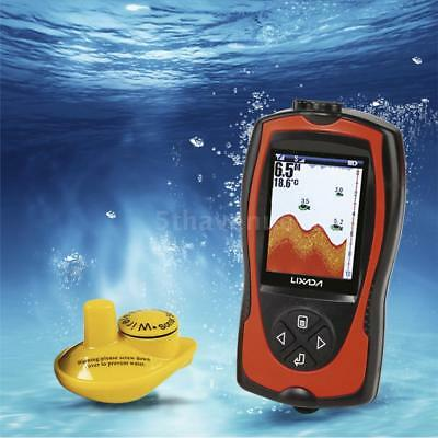 LUCKY Fish Finder Wireless 328ft Sonar Wandler 100M Tiefe 240V x 960H