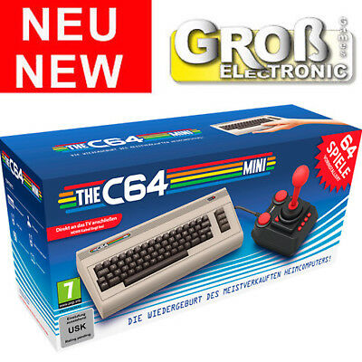 THE C64 Mini Classic Commodore 64 C64 Mini Game Console Konsole NEU OVP