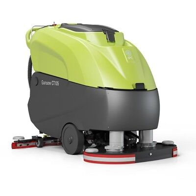 """IPC Eagle CT105BT70B-240CH 28"""" Traction Drive Heavy Duty Automatic Scrubber with"""