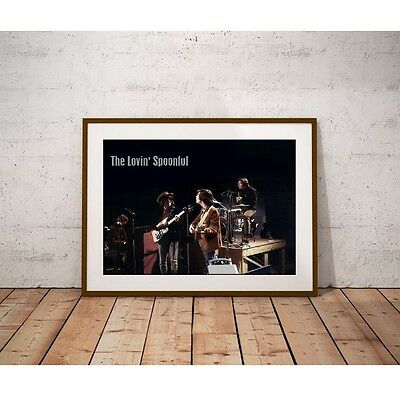The Lovin' Spoonful Poster - 1960's Rock Band Summer in the City