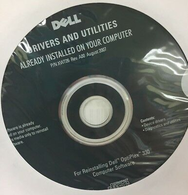 DELL RESOURCE MEDIA Device Drivers Utilities Dell OptiPlex 3010 NEW