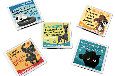 H&H Wags & Whiskers Pet Magnet Gift Range - 32 breeds available
