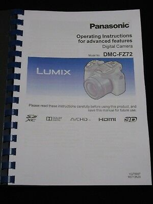 Panasonic lumix dmc-fz72 manuals.