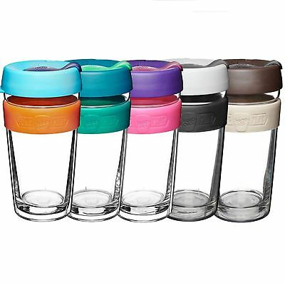 KeepCup Changemakers Long Play Glass Removable Tritan Booster Twin Walled