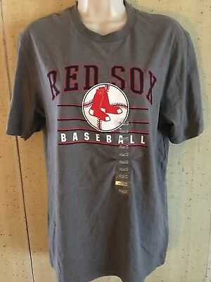 75241b74edbe1a BOSTON RED SOX Cooperstown Collection Red T-Shirt Nike Team Sports ...