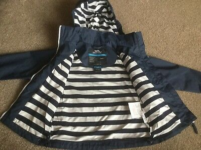 BNWT TRESPASS Girls Waterproof Windproof TP50 3000mm Jacket  -  Age 3-4 Years