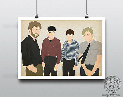 JOY DIVISION Minimalist Band Poster Silhouette Music Minimal Ian Curtis Hook