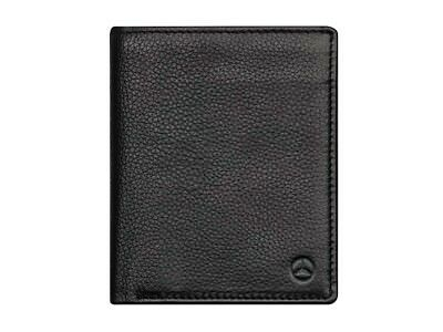 Ori Mercedes Briefcase Wallet Portemonaie Beef Leather Rfid Scan Protection Logo