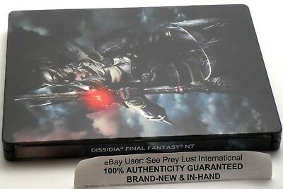 Dissidia Final Fantasy Nt Collector's Steelbook Warrior Of Light / Garland - New