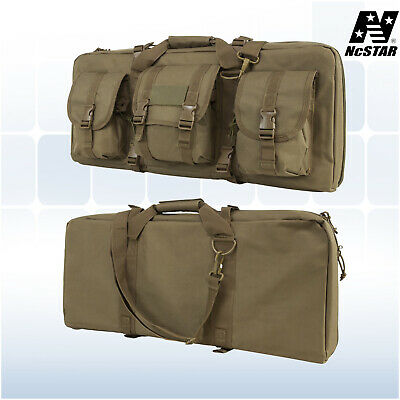 "NcSTAR 28"" Tactical Sub Compact Rifle Deluxe Pistol Weapons Case Tan"