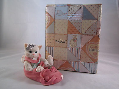 Enesco Calico Kittens Figurine We're Partners In The Dance Of Life  #314471 Cat