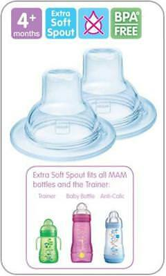 MAM Extra Soft Spouts x2 Pack