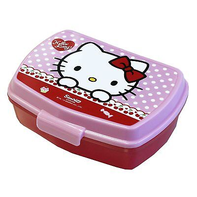 Portameriendas Rectangular Diseño Hello Kitty 17x14x6cm Sandwichera Stor 53374