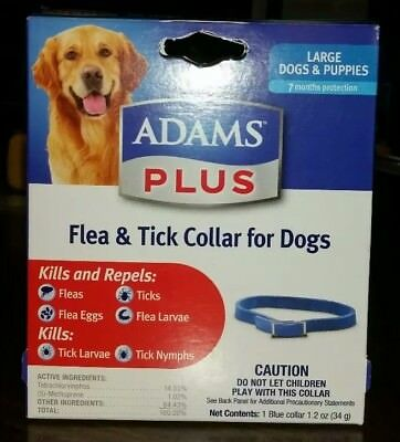 #1 Adams Plus Flea & Tick Collar for Dogs, Large Dogs and Puppies