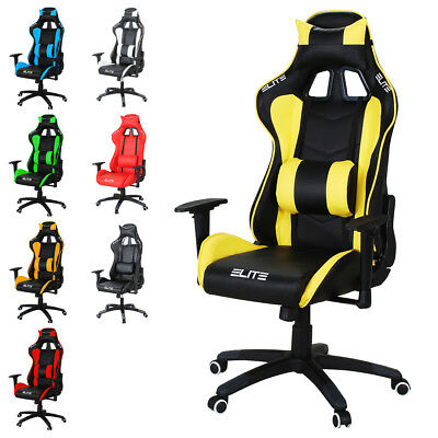 Office Chair Racing Gaming Chair Elite MG-200 Desk Chair Swivel Chair Sport Seat