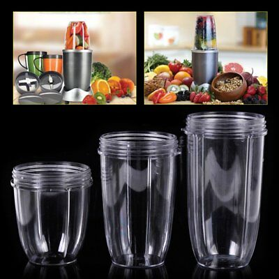 18/24/32oz Magic Juicer Cup Mug Clear Replacement For NutriBullet Nutri Bullet *